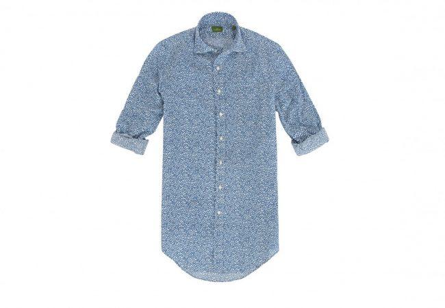 Spread Collar Liberty Print Sport Shirt | Menswear Expert Sid Mashburn Shares His 6 Spring and Summer Essentials