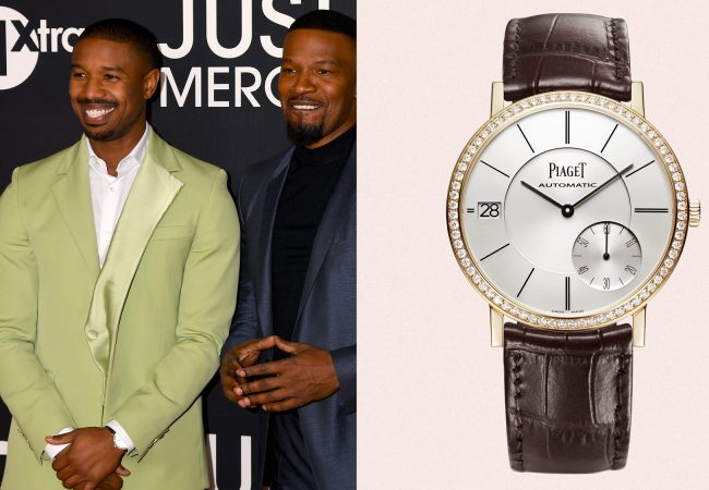 Michael B. Jordan Wears One of the Thinnest Watches in the World