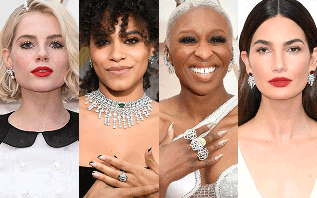 Jewellery is king at this year's Oscars
