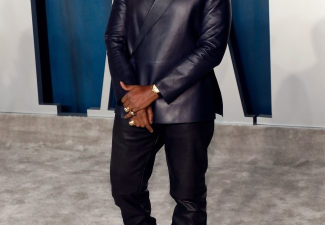 Kanye West Might've Won the Oscars with This Leather Suit