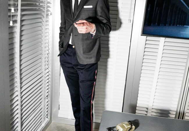Nicholas Braun: Tall Man, Tiny Suit
