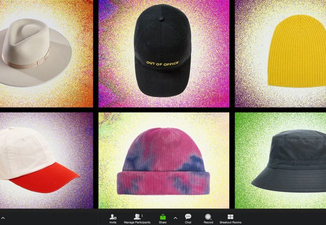 Why Are Guys Wearing Hats on Zoom?