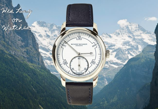 Meet Rexhep Rexhepi, the Millenial Making the Most Exciting New Watch Designs In the World