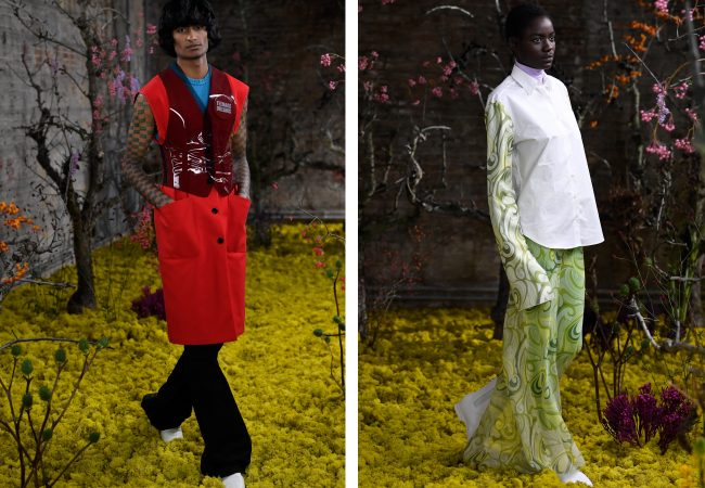 Raf Simons Wants You to Rethink Hippie Fashion