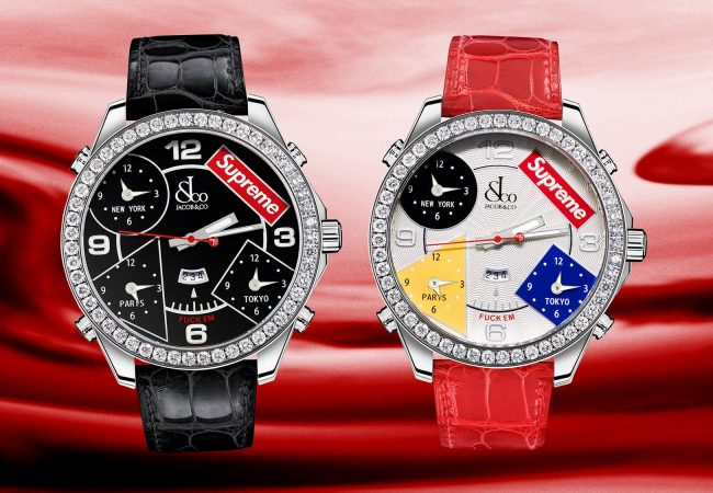 Supreme Can Move $14,000 Luxury Watches, Too