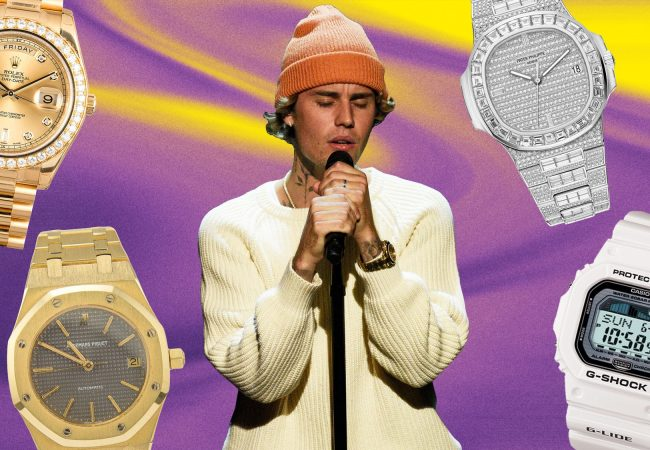 These Are Justin Bieber's Best Watches
