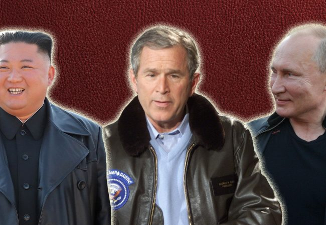 A Brief History of World Leaders in Leather Jackets