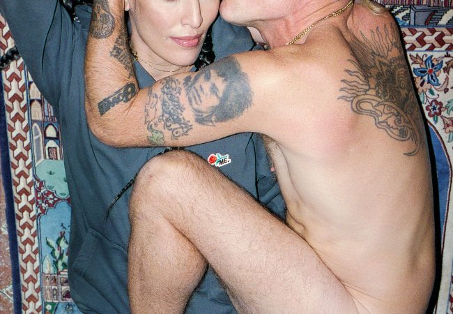 Flea and Melody Ehsani Embody Marital Fit Bliss