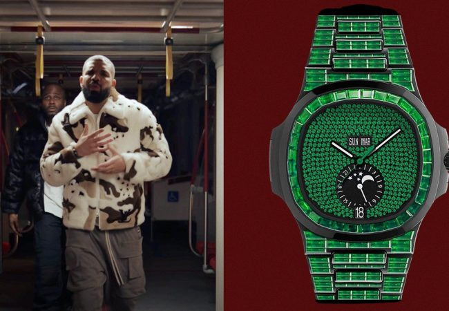 Drake Can't Stop Talking About His Virgil Abloh-Customized Patek Philippe
