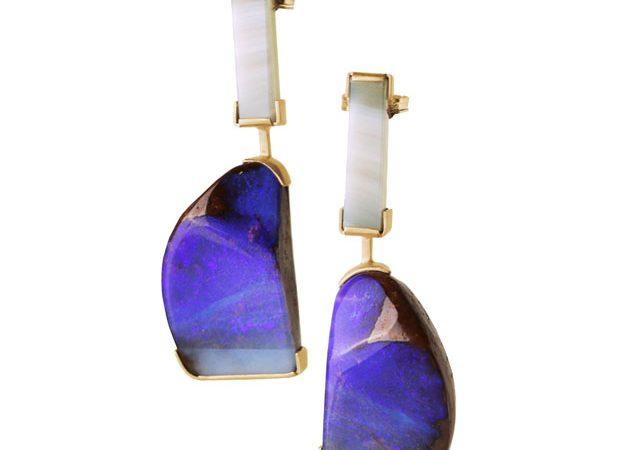 'Ultraviolet' earrings