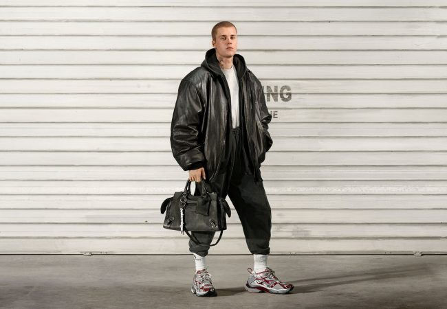 You Better Belieb That's Justin Bieber in the New Balenciaga Campaign