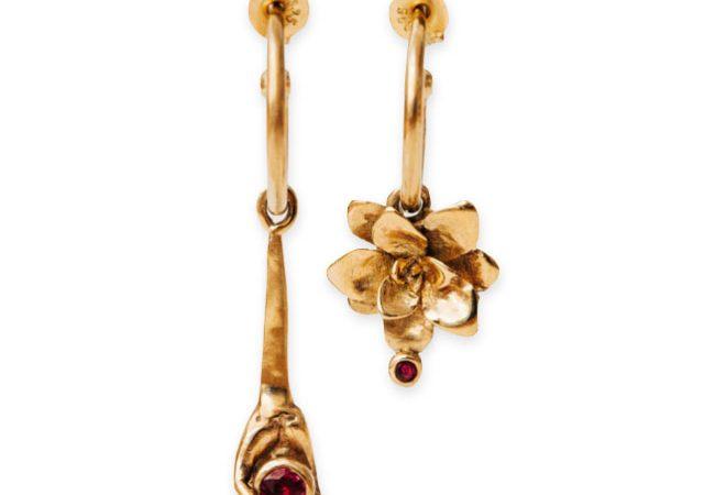 'The Gardener' earrings